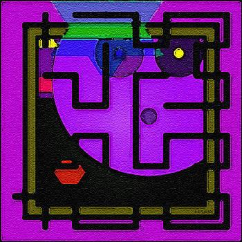 Dee Flouton - Purple Face Maze