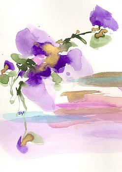 Purple Flower by Darlene Flood