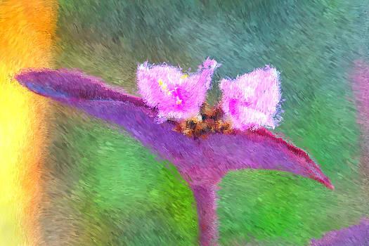 Carmen Del Valle - Purple Heart Impressionism