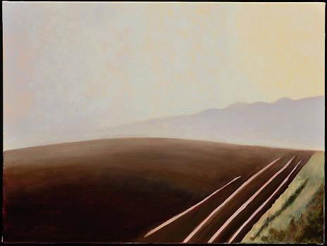 Purple Hill by Gloria Cigolini-DePietro
