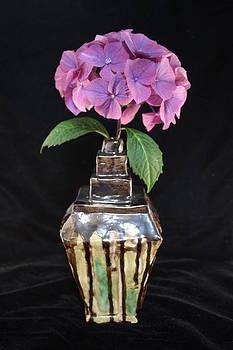 Purple Hydrangea by Mark Cheney