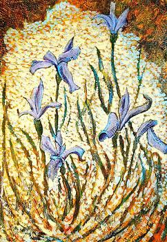 Ion vincent DAnu - Purple Irises