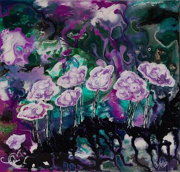 Shelly Leitheiser - Purple Lava Floral