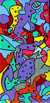 Purple Love 1 by Natasha  Rozhdestvensky