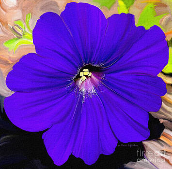 Purple Pansy by Patricia Griffin Brett