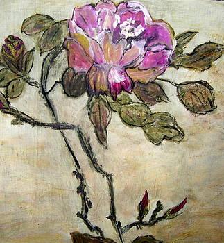 Purple Peony by Melynnda Smith