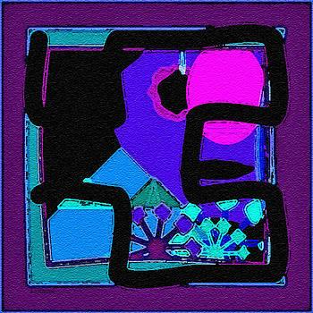 Dee Flouton - Purple Square Maze
