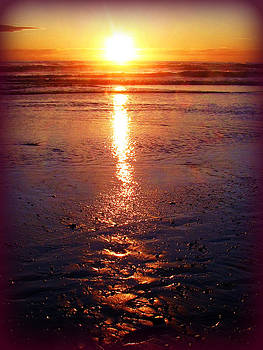 Deahn      Benware - Purple Sunset
