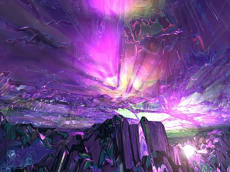 Purple Sunset by Erik Tanghe