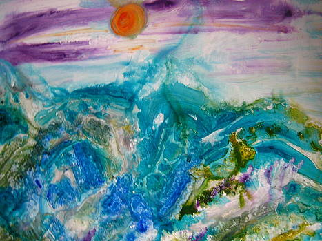 Purple Sunset by Fatima Pardhan
