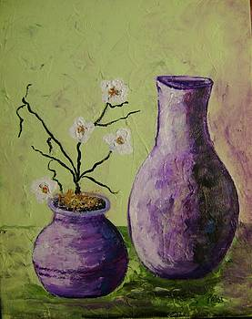 Purple vases by Patsi Stafford