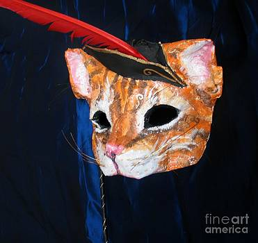 Puss in Boots Mask by Julia Cellini Cellini
