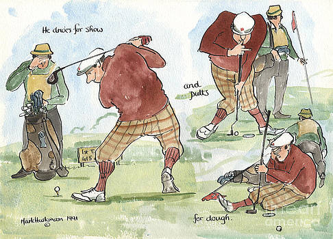 Putts for Dough by Mark Huskinson