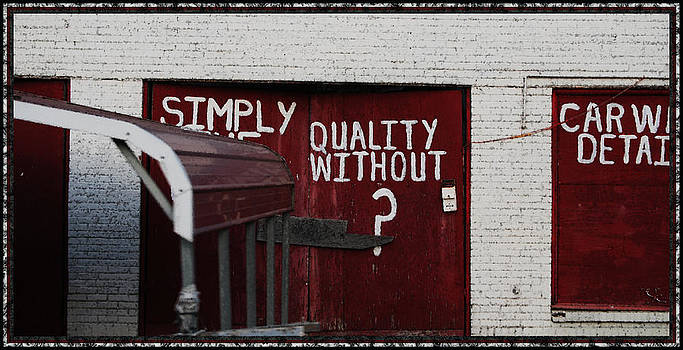 Quality Without by Kelly Rader