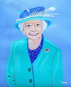 Queen Elizabeth II by Eamon Reilly