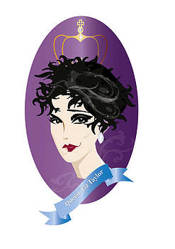 Queen Liz Taylor  by Demelza Everett
