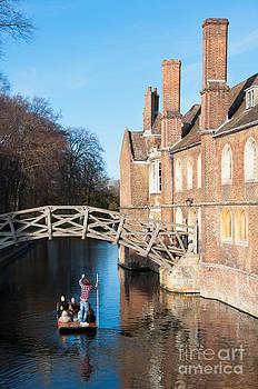 Queens College Cambridge by Andrew  Michael