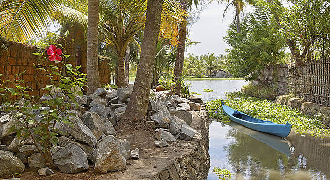 Kantilal Patel - Quite corner of Kerala Backwaters.