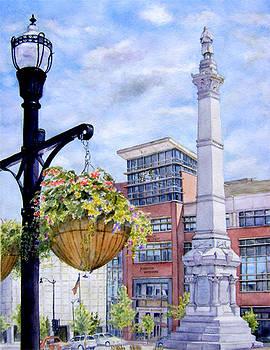 Racine Memorial Square by Maria Varga-Hansen