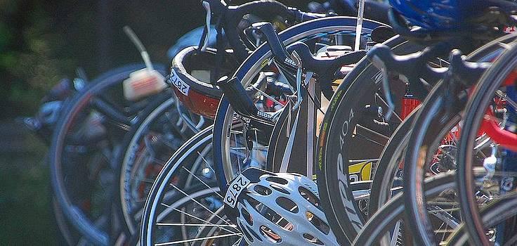 Racing Bikes by Sarah McKoy
