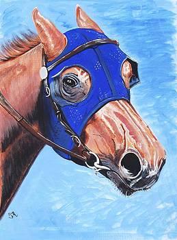 Racing Blue by Robin Hewitt