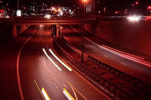 Racing Lights by Mandi Howard