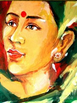 Radha by Manish Verma