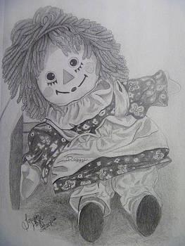 Raggedy Ann by Tonya Hoffe