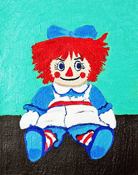 Raggedy Ann with an Attitude by Margaret Harmon