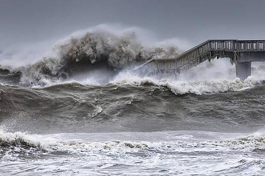 Raging Black Sea by Evgeni Dinev