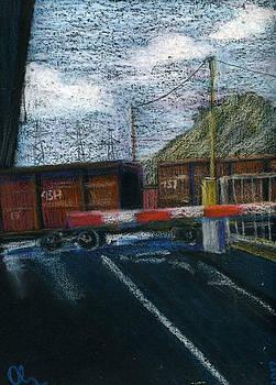 Rail Crossing by Lelia Sorokina