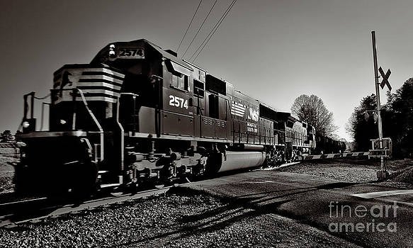 Rail Crossing by Mark East