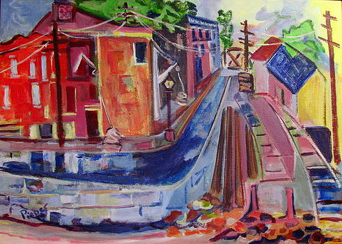 Betty Pieper - Railroad and Canal 1840