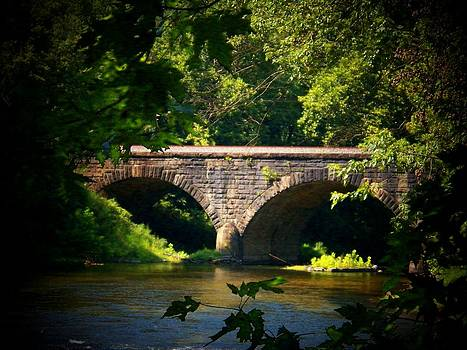 Railroad Bridge Over Cacapon by Joyce Kimble Smith