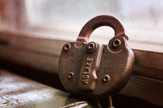 Railroad Lock by Elizabeth Whittington
