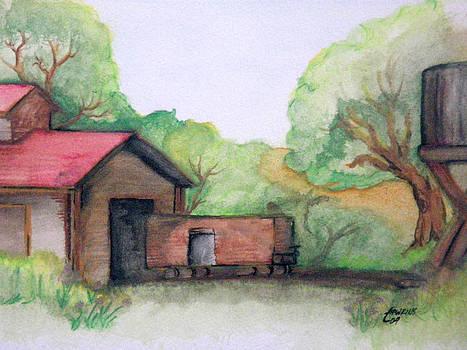 Railyard by Timothy Hawkins