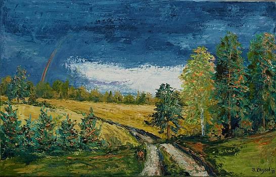 Rain 3 by Stanislav Zhejbal