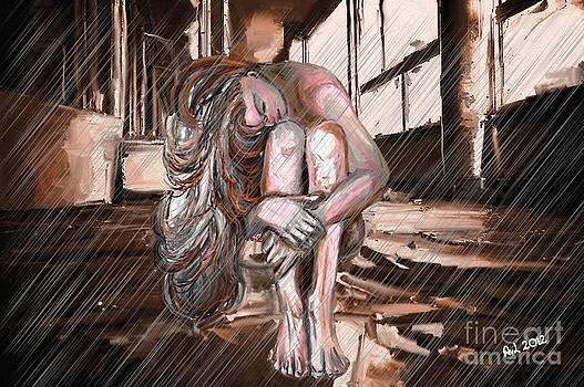 Rain inside by Astrid Van Loopik