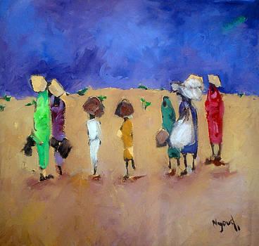 Rain  by Negoud Dahab