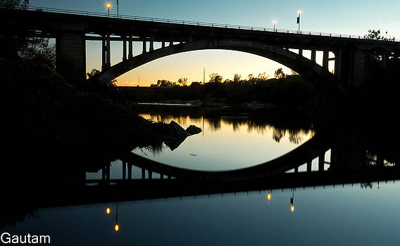 Rainbow Bridge  by Gautam Dey