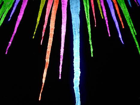 Rainbow Icicles by Devon Stewart