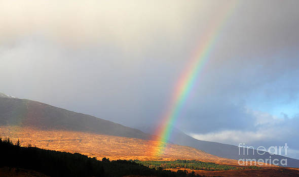 Rainbow in Scotland by Holger Ostwald