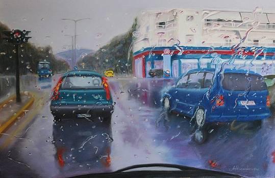 Rainy day by Antonios Theodosiou