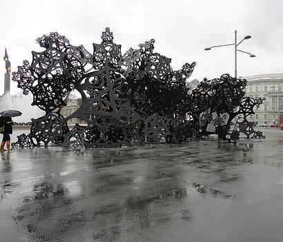 Rainy day in Vienna by Kristina Mladenova
