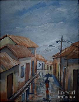 Rainy day by Jean Pierre Bergoeing