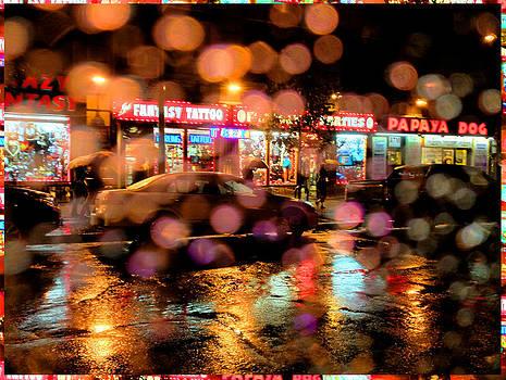 Rainy Night by Bill Orcutt