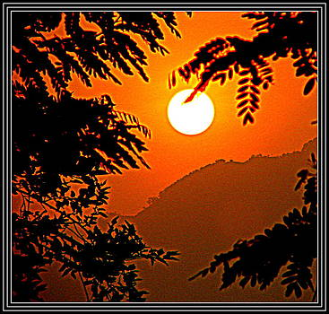 Anand Swaroop Manchiraju - RAISING SUN AT HIMALYAS