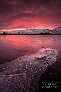 Rannoch Moor dawn Scotland by David Smith