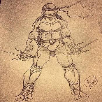 Raphael Sketch #raphael #tmnt by Rocky Martinez