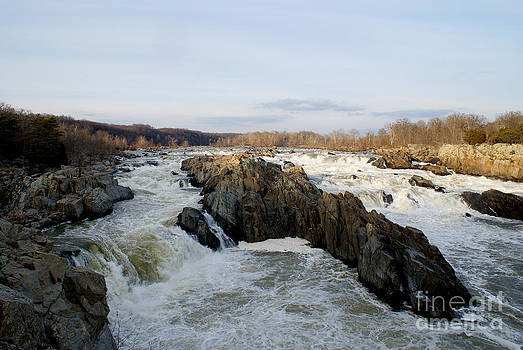Rapids of Great Falls Park by Angela DiPietro